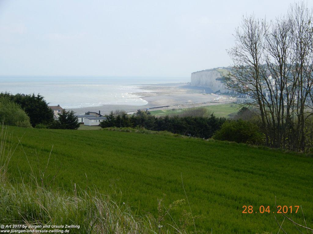 Philosophische Bildwanderung Die Klippen von Criel - Alabasterküste - Normandie - Frankreich