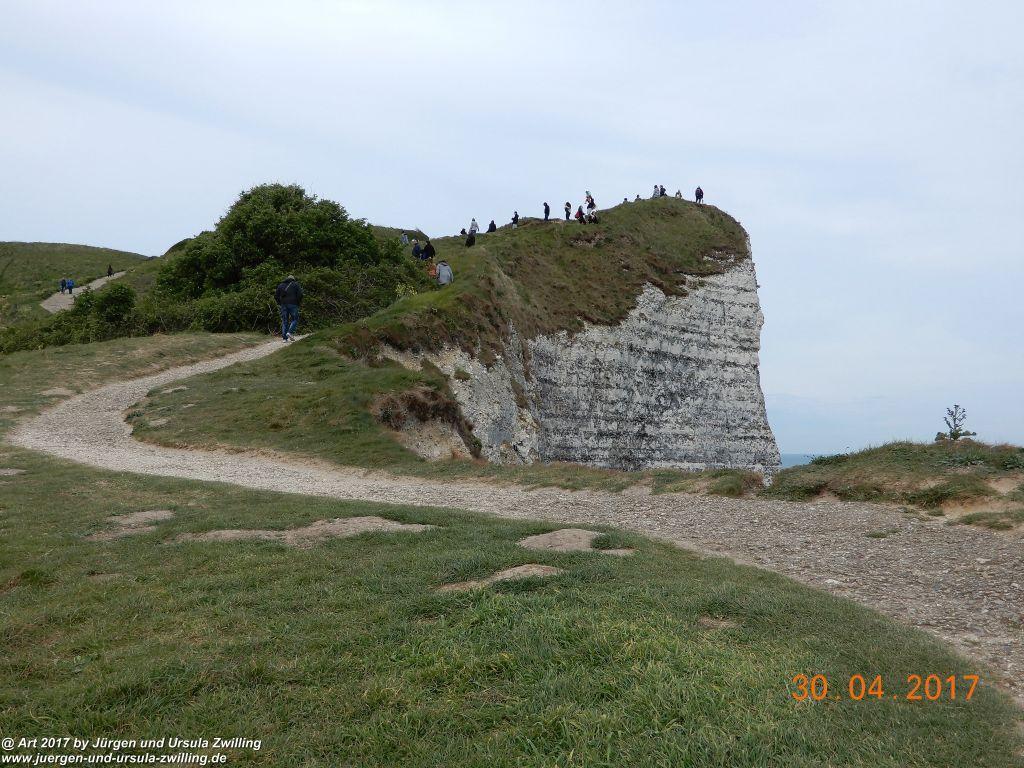 Philosophische Bildwanderung Porte d'Aval mit Valleuse d'Antifer (Étretat I) - Normandie - Frankreich