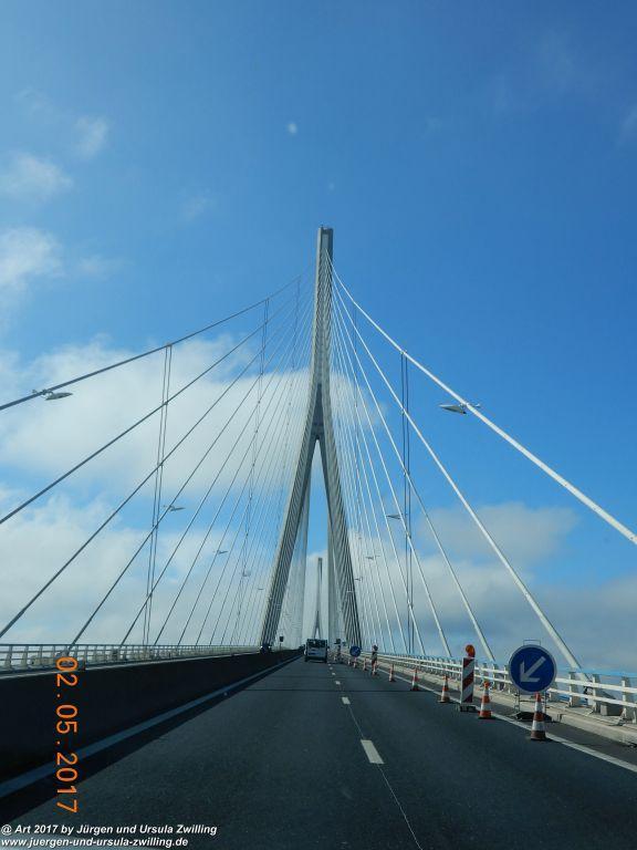 Pont (Brücke) de Normandie -Frankreich