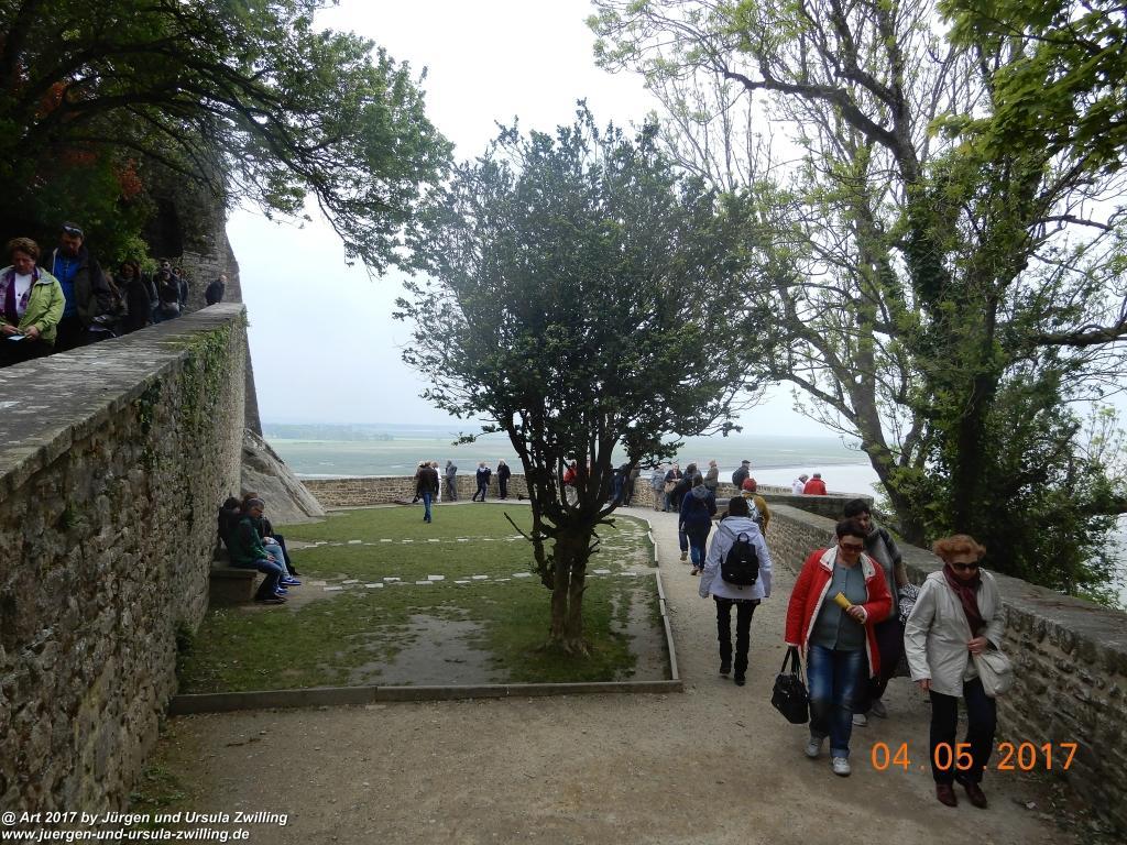 Le Mont Saint Michel - Normandie - Frankreich