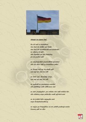 Stranger im eigenen Land (Familie, Mensch, Gesellschaft, Politik) Gedichte - Gedanken