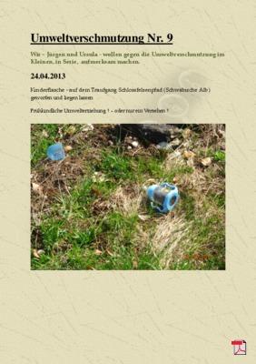Umweltverschmutzung Nr. 9