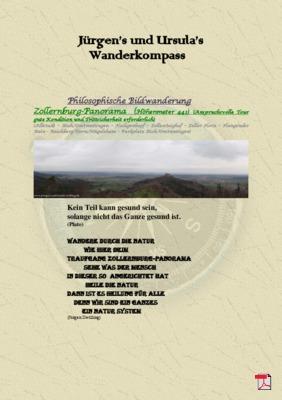 Philosophische Bildwanderung Traufgang - Zollernburg-Panoram