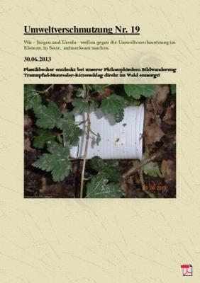 Umweltverschmutzung Nr. 19