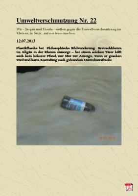 Umweltverschmutzung Nr. 22