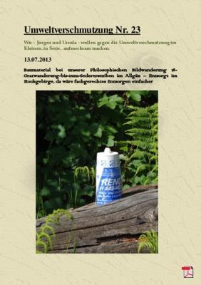 Umweltverschmutzung Nr. 23