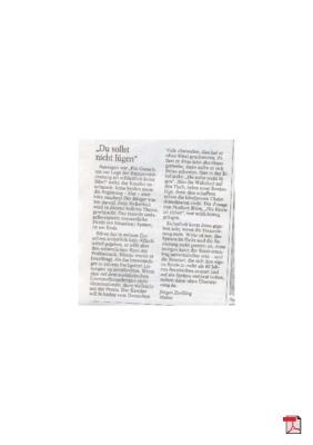 Handeln, nicht taktieren nicht lügen ist angesagt – Rürup gibt den Weg vor - Leserbrief - Allgemeine Zeitung Mainz