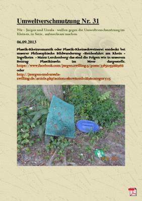 Umweltverschmutzung Nr. 31