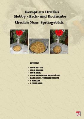 Ursula's Nuss  Spritzgebäck