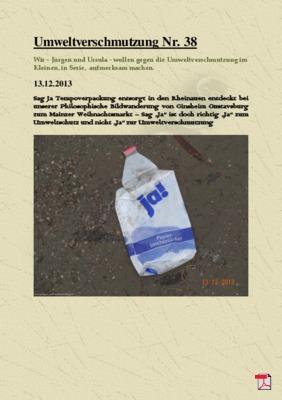 Umweltverschmutzung Nr. 38