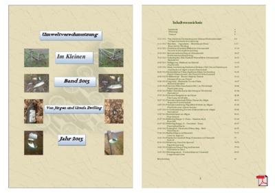 Umweltverschmutzung Band 2013 - Broschüre