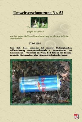 Umweltverschmutzung Nr. 52