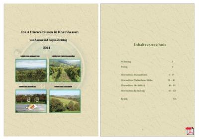 Die 4 Hiwweltouren in Rheinhessen - Broschüre