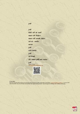 Zeit - Gedicht