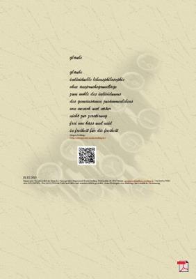 Glaube - Gedicht