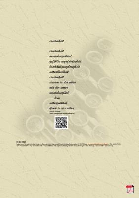 Einsamkeit -Gedicht