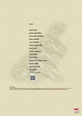Mein - Gedicht