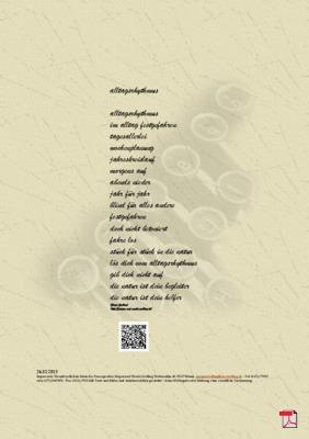 Alltagsrhythmus - Gedicht