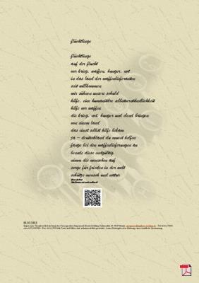 Flüchtlinge - Gedicht