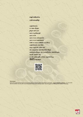 Auferstanden - Ostersonntag - Gedicht