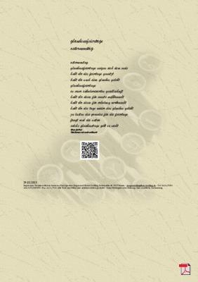 Glaubensfeiertage - Ostermontag - Gedicht