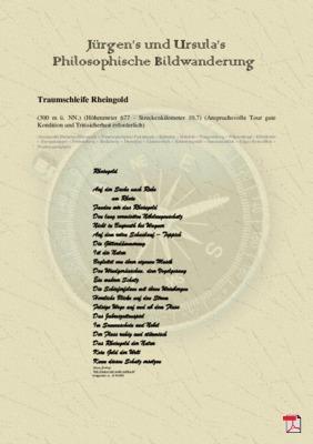 Philosophische Bildwanderung  Traumschleife Rheingold