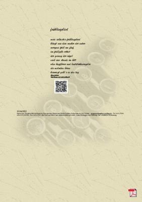 Frühlingslied -Gedicht