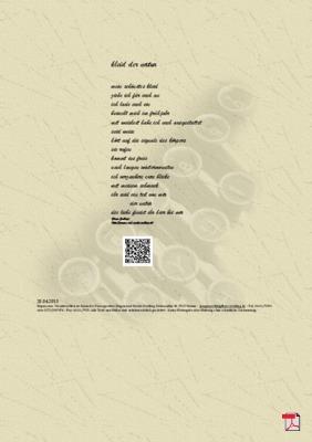 Kleid der Natur - Gedicht