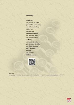 Muttertag -Gedicht