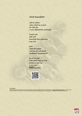 Christi Himmelfahrt - Gedicht