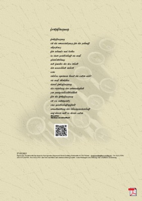 Fortpflanzung - Gedicht