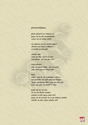 Friedensreligionen - Gedicht - Gedanken