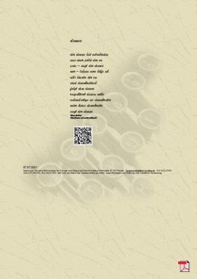 Demos - Gedicht - Gedanken