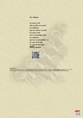 Der Dumme - Gedicht - Gedanken