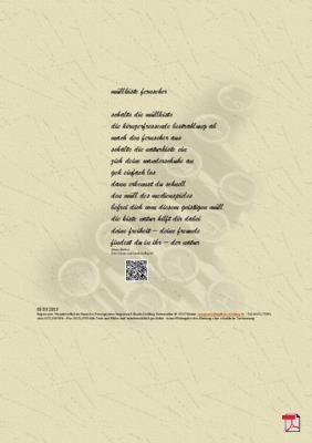 Müllkiste Fernseher - Gedicht - Gedanken