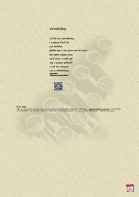 Schreiberling - Gedicht - Gedanken