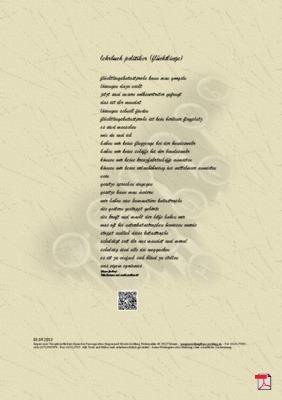 Lehrbuch Politiker (Flüchtlinge) - Gedicht - Gedanken