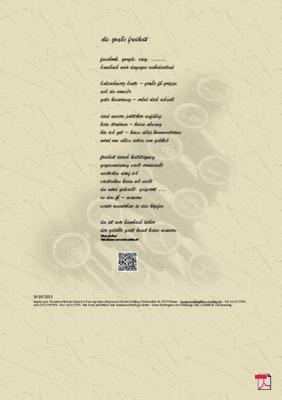 Die große Freiheit -  Gedicht - Gedanken