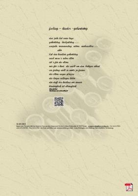 Feeling – Kinder - Geburtstag - Gedicht - Gedanken