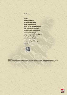 Bonhomie - Gedicht - Gedanken (Gutmütigkeit, Einfalt, Biederkeit )