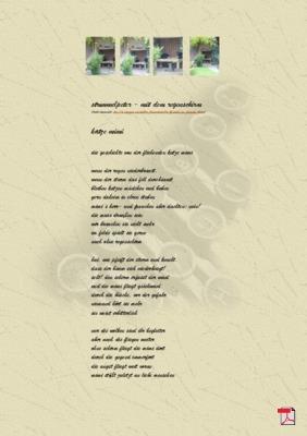 21.10.2015: Struwwelpeter - Mit dem Regenschirm - Katze Mimi - - Gedicht - Gedanken