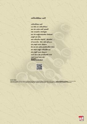 Schlachthaus Welt - Gedicht - Gedanken