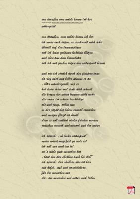 Von draußen vom Walde komm ich her -Gedicht - Gedanken