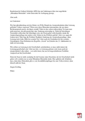 Mitnahme-Mentalität - Leserbrief - Allgemeine Zeitung Mainz