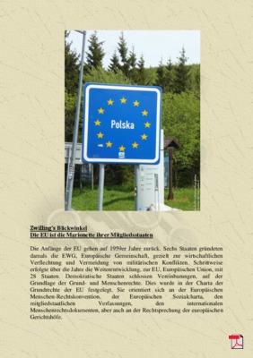 Zwilling's Blickwinkel  Die EU ist die Marionette ihrer Mitgliedsstaaten