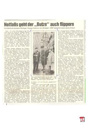 Määnzer Viertelsbutze im Gespräch mit meinem Opa - Allgemeine Zeitung Mainz 24.201.1978