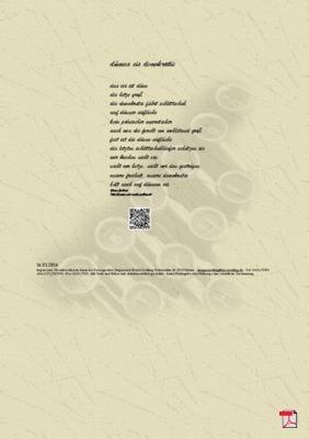 Dünnes Eis Demokratie -Gedicht-Gedanken