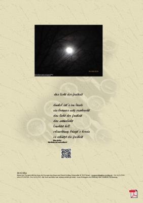 Das Licht der Freiheit -Gedicht - Gedanke