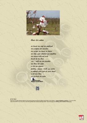 Blues der Natur - Gedicht - Gedanke