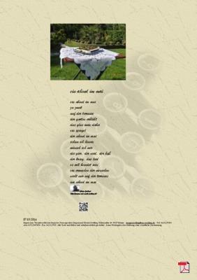 Ein Abend im Mai - Gedicht - Gedanken